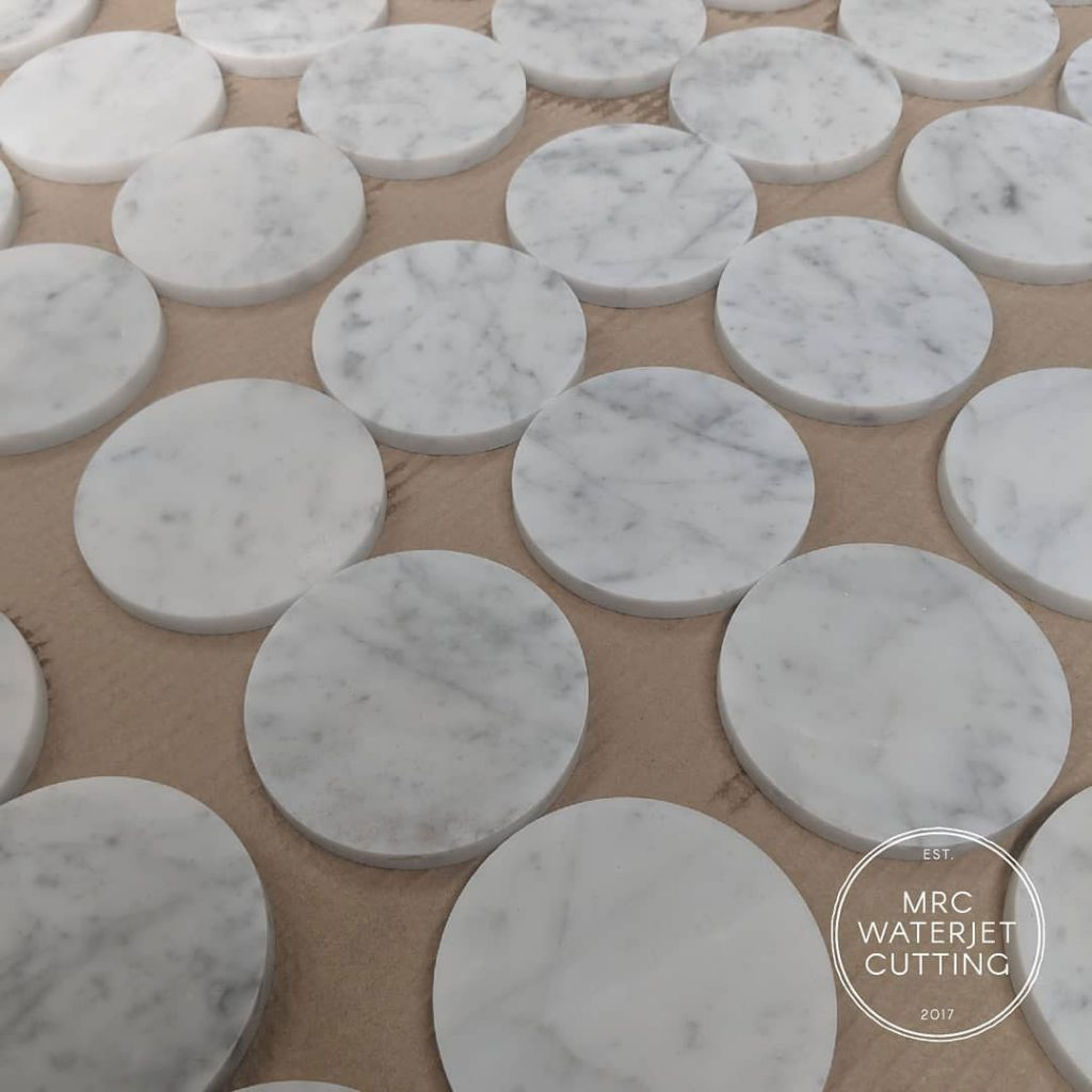 Marble coaster inserts for @behrandco new capsule collection.