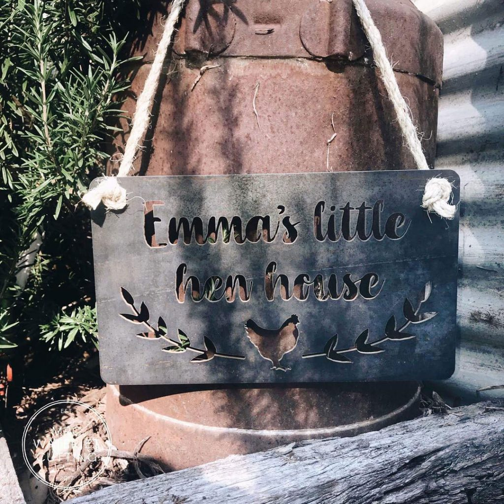 Decorative Signage for any occasion in any material - Cut in house